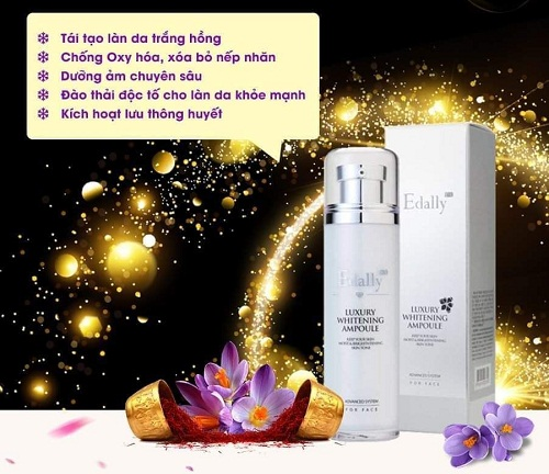 những công dụng của Edally Luxury Whitening Ampoule