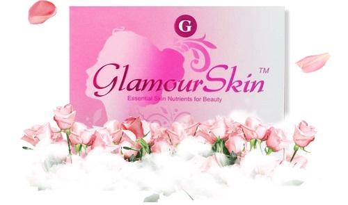 Viên uống làm đẹp da chống lão hóa Glamour Skin hộp 60 viên của Mỹ