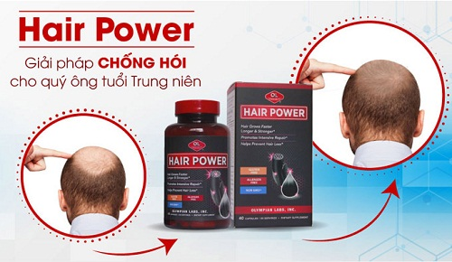 viên mọc tóc Hair Power