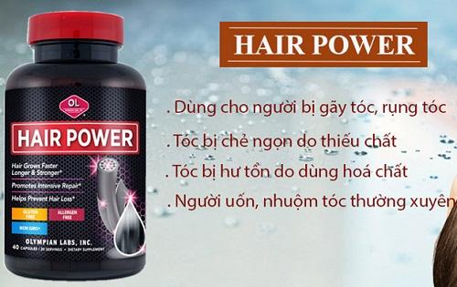 những đối tượng nên dùng viên uống mọc tóc hair power