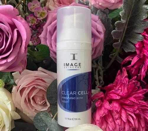 image skincare clear cell medicated acne lotion được dùng cho cả nam và nữ