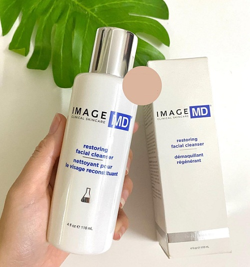 image md restoring facial cleanser của mỹ