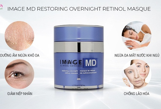 image md restoring overnight retinol masque giúp trẻ hóa làn da hiệu quả
