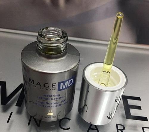 image md restoring retinol booster kết cấu lỏng, thẩm thấu vào da nhanh chóng
