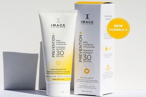 image prevention spf 30+ daily hydrating moisturizer chống nắng dưỡng ẩm cho làn da khỏe đẹp