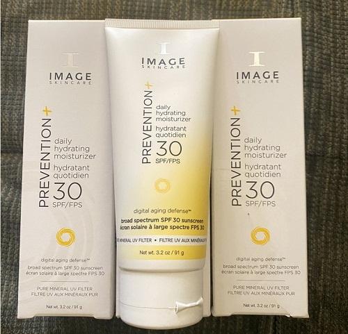 image prevention spf 30+ daily hydrating moisturizer được nhiều chị em yêu thích tin dùng
