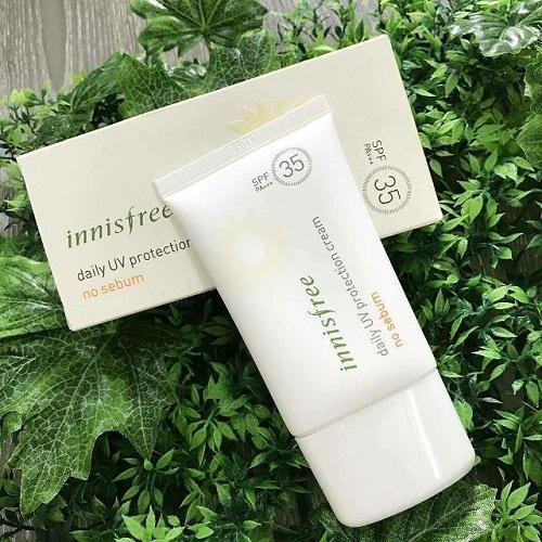 kem chống nắng Innisfree bảo vệ da khỏi tác hại của tia UV