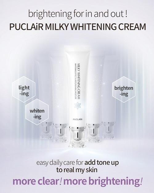 Kem dưỡng Puclair Milky Whitening Cream Hàn Quốc