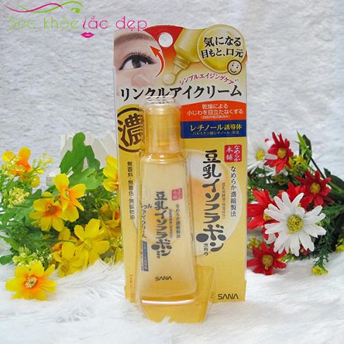 công dụng của kem trị bọng mắt sana của Nhật Bản