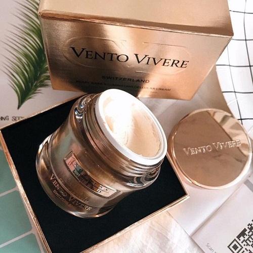 vento vivere pearl rare illuminating cellular cream đánh bật nám tàn nhang