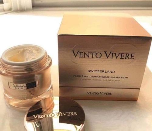 vento vivere pearl rare illuminating cellular cream an toàn cho làn da của bạn