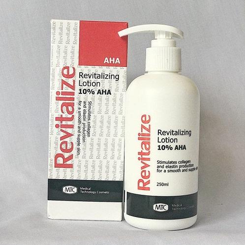 lotion revitalize được chứng nhận an toàn cho làn da và sức khỏe người dùng