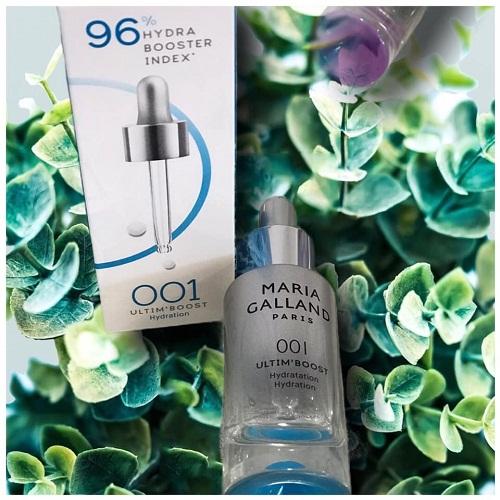 maria galland 001 ultim boost hydration dạng tinh chất thẩm thấu vào da nhanh chóng