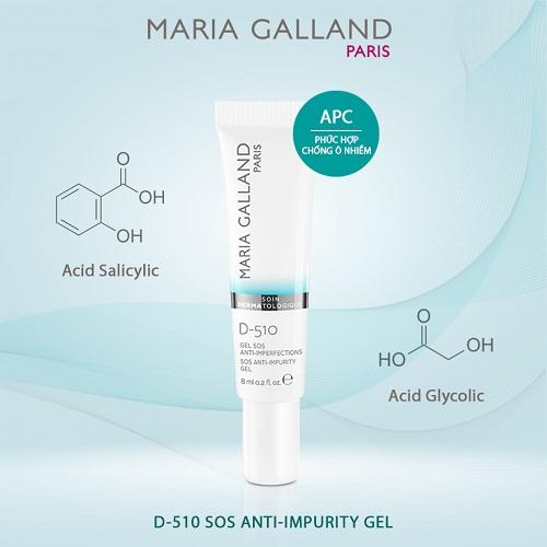 maria galland d-510 sos anti impurity gel