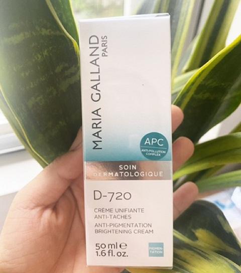 maria galland d-720 anti-pigmentation brightening cream