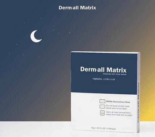 mặt nạ derm all matrix facial dermal-care mask