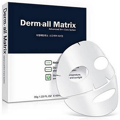 Mặt nạ mặt nạ derm all matrix facial dermal-care mask Hàn Quốc