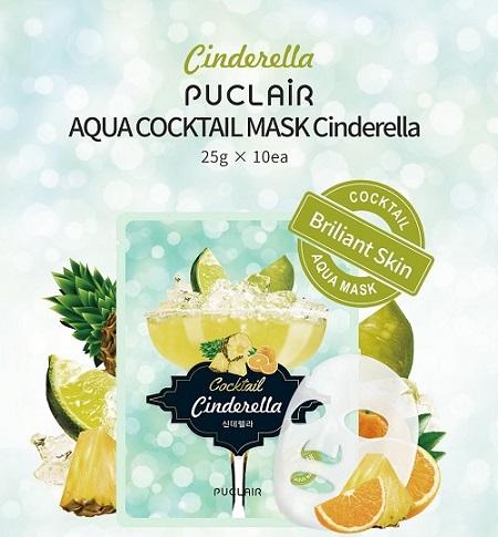 mặt nạ Puclair Aqua Cocktail Cinderella Hàn Quốc