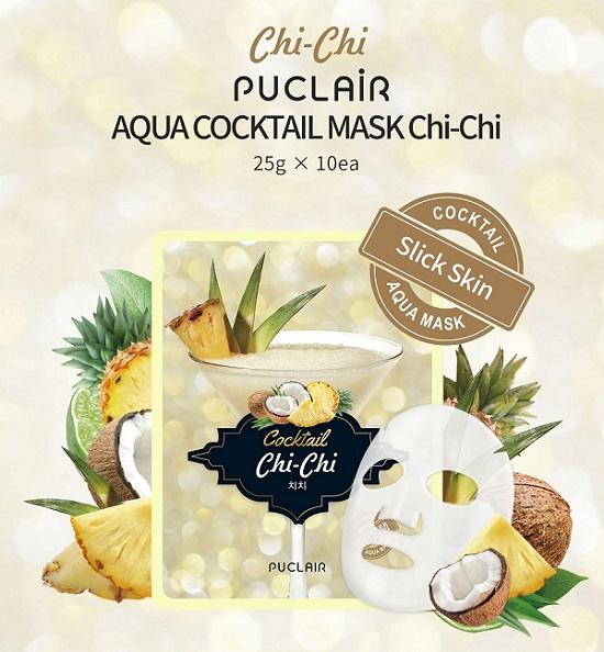 Mặt nạ dưỡng da Puclair Aqua Cocktail Mask Chi- Chi