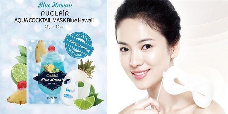 Puclair Aqua Cocktail Blue Hawaii Hàn Quốc