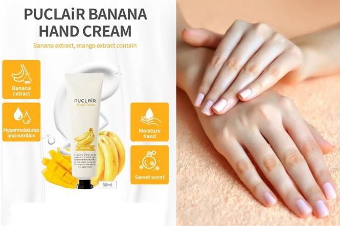 Kem dưỡng tay Puclair Hand Cream Banana