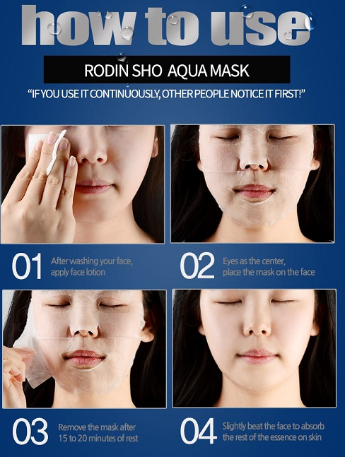 mặt nạ Rodin sho Aqua Mask Hàn Quốc