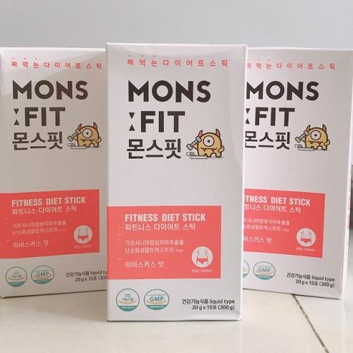 Monsfit giảm cân Hàn Quốc – Giảm cân, hạ mỡ máu, giải độc gan