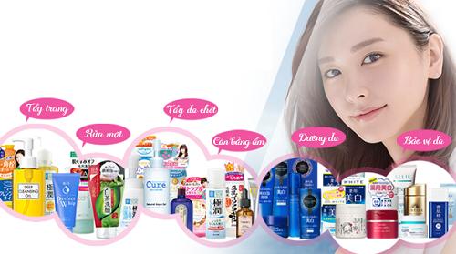 Tổng quan về mỹ phẩm Nhật Bản