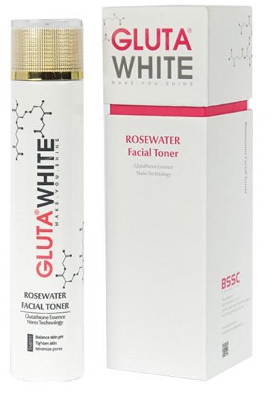 nước hoa hồng rosewater facial toner gluta white
