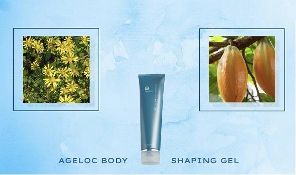 Gel mát xa cơ thể ageLOC Body Shaping Gel