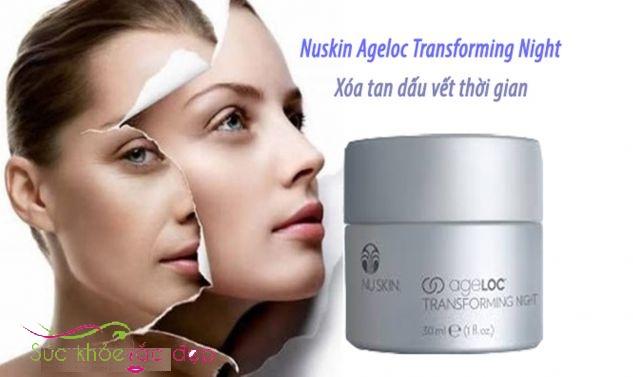 Kem phục hồi da ban đêm ageLOC® Transforming Night 30ml