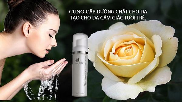Sữa rửa mặt & nước hoa hồng Nuskin ageLOC® Gentle Cleanse & Tone 60ml