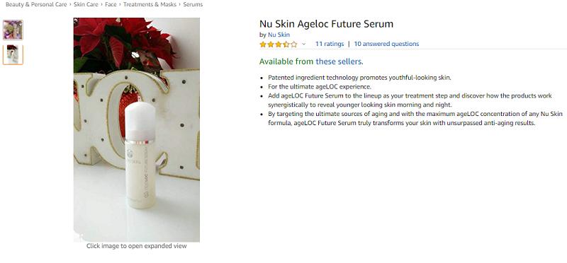 Tinh Chất Dưỡng Da Chống Lão Hóa Ageloc Future Serum Nu Skin
