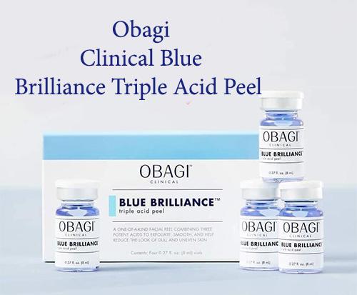 obagi clinical blue brilliance triple acid peel