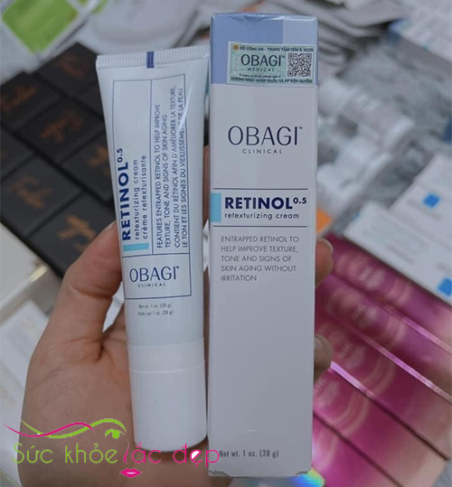 obagi clinical retinol 05 retexturizing cream