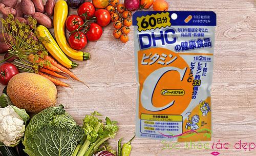 Review viên uống dhc vitamin c 60 viên của Nhật Bản