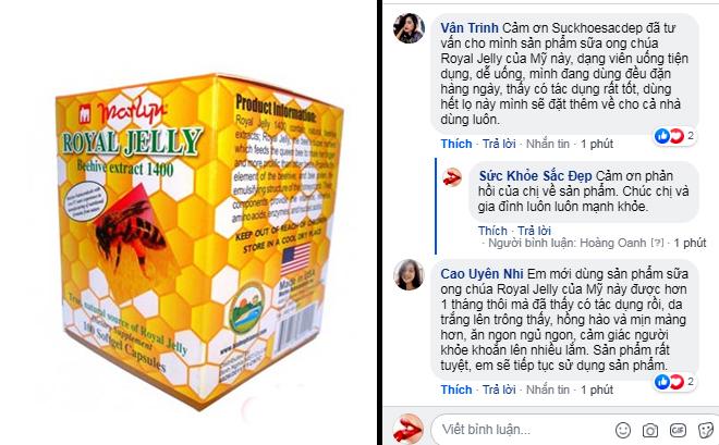 Review người dùng về sữa ong chúa royal jelly hộp 100 viên