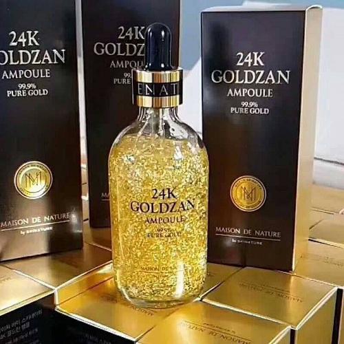 Tinh chất 24k Goldzan Ampoule 99.9% Pure Gold 100ml