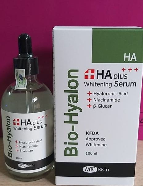 Serum HA Plus Whitening Bio Hyalon Hàn Quốc chính hãng 100ml/500ml