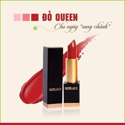 son lì no black màu đỏ queen