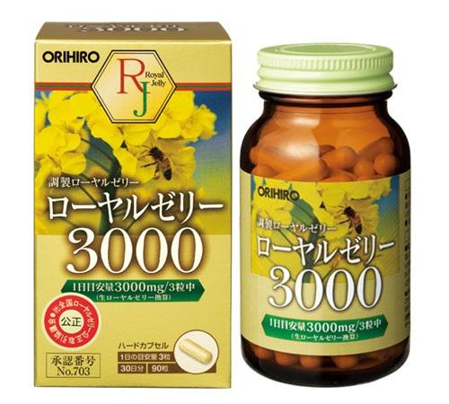 cách dùng  của sữa ong chúa orihiro thế nào