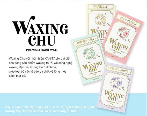 Tẩy Lông Waxing Chu Chính Hãng Gía Rẻ