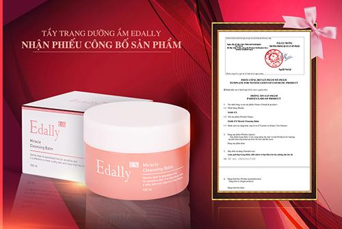 Tẩy trang dưỡng ẩm Edally Miracle Cleansing Balm được chứng nhận về chất lượng
