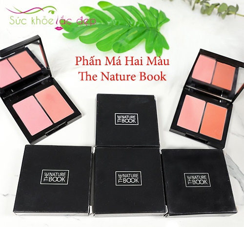 the nature book wanna be blusher two color styling