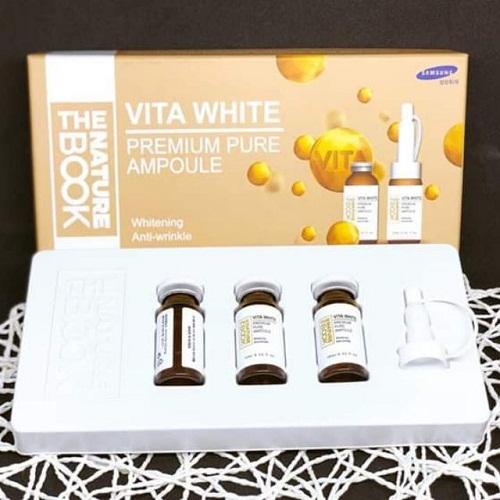 tinh chất dưỡng trắng vitamin white bổ sung độ ẩm cho da mềm mịn