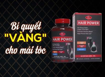 Hair Power - bí quyết vàng cho mái tóc khỏe đẹp