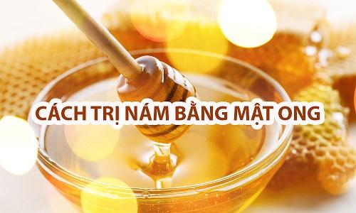 Cách trị nám da tại nhà với mật ong