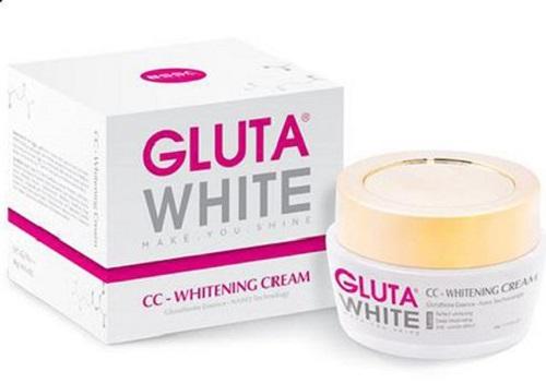 kem dưỡng da ban ngày Gluta White CC-Whitening Cream