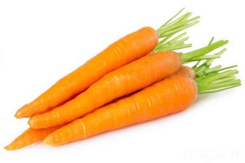 Bổ sung collagen bằng cà rốt