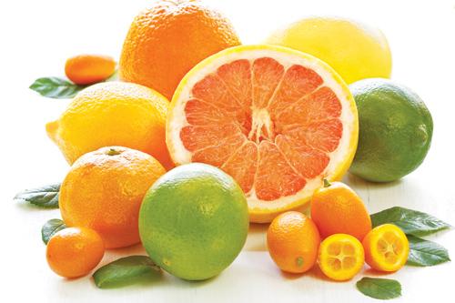 Bổ sung collagen tự nhiên với các trái cây họ cam chanh